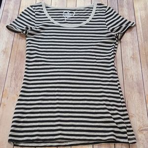 Basic Long Striped T-shirt NWOT